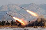 """朝鲜凌晨向朝鲜半岛东部海域两次发射""""不明发射体"""""""