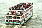 孟加拉国迎来节日返乡潮