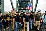 美国波特兰市集会现场爆发冲突 警方逮捕13名示威者