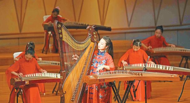 七月琴社十周年音乐会举行