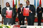 乌干达和卢旺达签署停止对抗的谅解备忘录