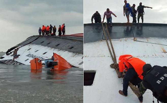 喀麦隆发生沉船事故