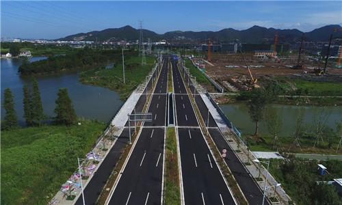 这条全新公路即将通车!宁波城区东部再添一条景观大道