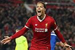 利物浦后卫范迪克击败梅西和C罗 当选欧足联年度最佳球员