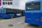 """20辆崭新公交车""""抛荒""""野外无人问 或与""""骗补""""有关"""