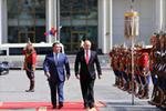 俄罗斯总统普京访问蒙古国