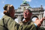 比利时布鲁塞尔:庆祝解放75周年