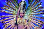 中国残疾人艺术团公益巡演献艺青海