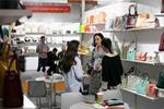 中国自主品牌箱包展在俄罗斯举行