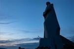 """世界和平日系列――摩尔曼斯克""""阿廖沙""""雕像"""