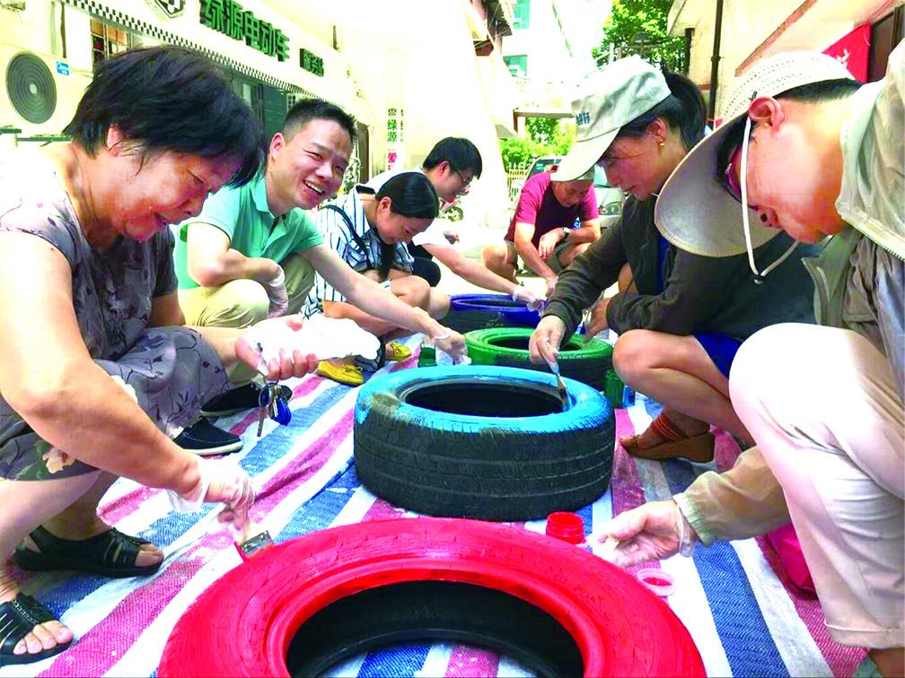 打造颜值和品质兼备的平安示范社区