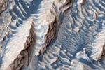 """""""奶油曲奇""""、蓝色地表……火星罕见照片来袭"""