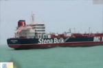 伊朗释放被扣英油轮的司法程序完成