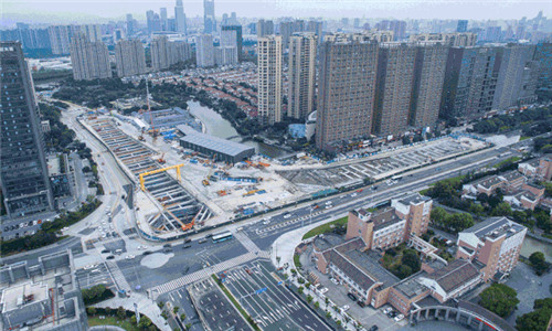 宁波地铁5号线一期重大进展!隧道施工开始