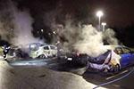 瑞典迈什塔地区发生爆炸 三处20辆汽车被烧毁