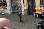 德国哈勒市突发枪击案 枪手当街射击路人已致两人身亡