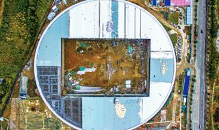 北仑海天文体中心预计年底竣工