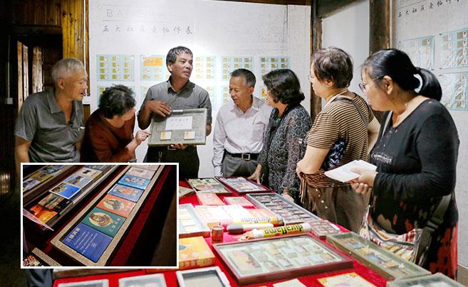 百年前的宁波正大火柴厂原址 办了场火柴盒贴画展