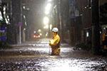 台风水灾致日本一化工厂剧毒氰化钠泄漏 民众被紧急疏散