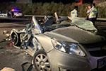 泉南高速柳州段半挂车追尾小车 致3名成人2名幼童遇难