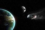 惊险!一颗小行星近距离飞掠地球 撞击几率千分之一