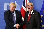 """欧盟峰会通过英国""""脱欧""""新协议"""
