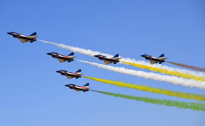 空军庆祝成立70周年