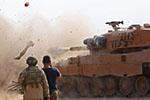 """土耳其与叙政府军激烈交火 土总统称库尔德武装""""没撤完"""""""