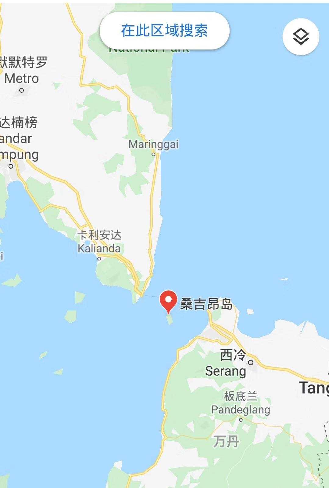 三名中国旅客在印尼潜水失踪 搜救正在举办