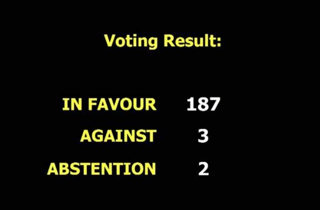 联合国大会第28次投票要求美国对古巴解除禁运
