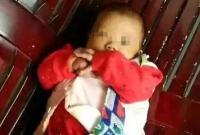 女婴被装蛇皮袋扔水沟 湖南衡阳警方介入调查