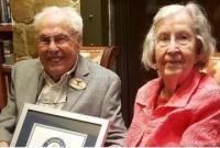 全球最老夫妇年龄将迎结婚80周年纪念日