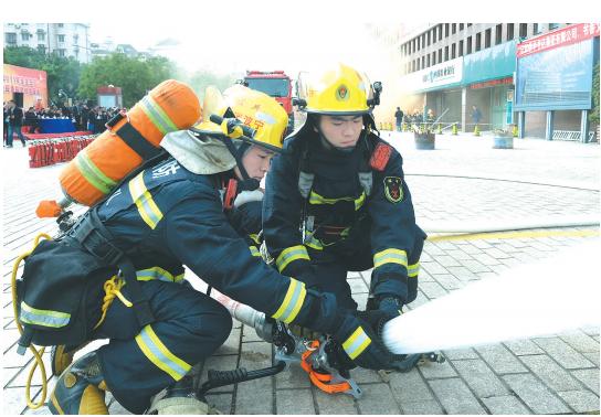 消防演练 防患未然