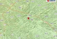 广西崇左市大新县附近发生5.0级左右地震