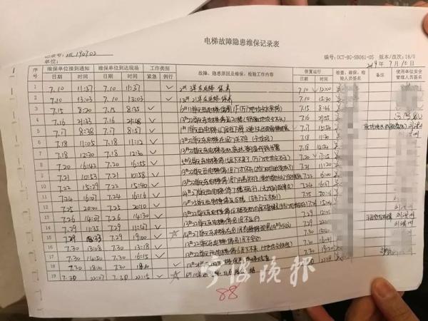 宁波这个小区交付才1年 业主乘电梯从10楼突然坠到