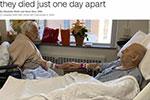 美国夫妇相伴68载 仅隔一天相继离世