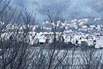 白雪皑皑 雪后异域小镇宛如童话世界