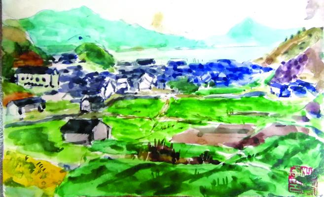 沙耆在韩岭的日子
