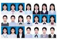 """一样的妆容一样的姿势 """"最美证件照""""拍出来好像""""一家子"""""""