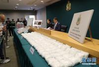 香港海关破获近十年来最大宗贩运冰毒案
