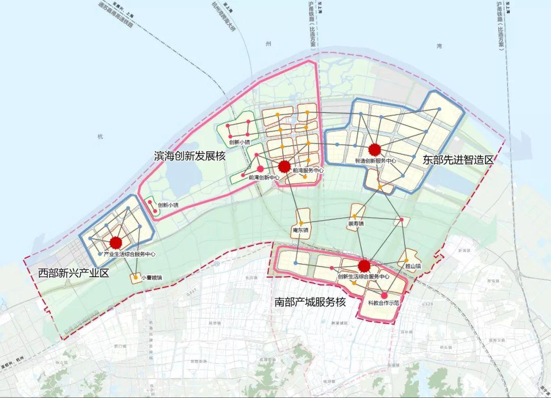 宁波前湾新区空间规划今日公示 5年后常住人口80万人