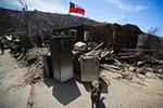 智利瓦尔帕莱索森林大火殃及200多所房屋