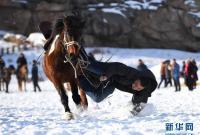 新疆吉木乃:萨吾尔冬牧文化旅游节开幕