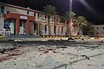 利比亚首都一军事学院遭空袭28人死亡