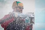 中国哈尔滨国际冰雕比赛开赛