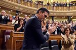 桑切斯成功连任西班牙首相 将组建第一届民主联合政府