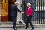 欧盟委员会主席冯德莱恩访问英国