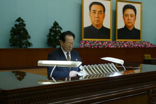 朝鲜最高人民会议议员黄顺姬逝世 金正恩偕夫人吊唁