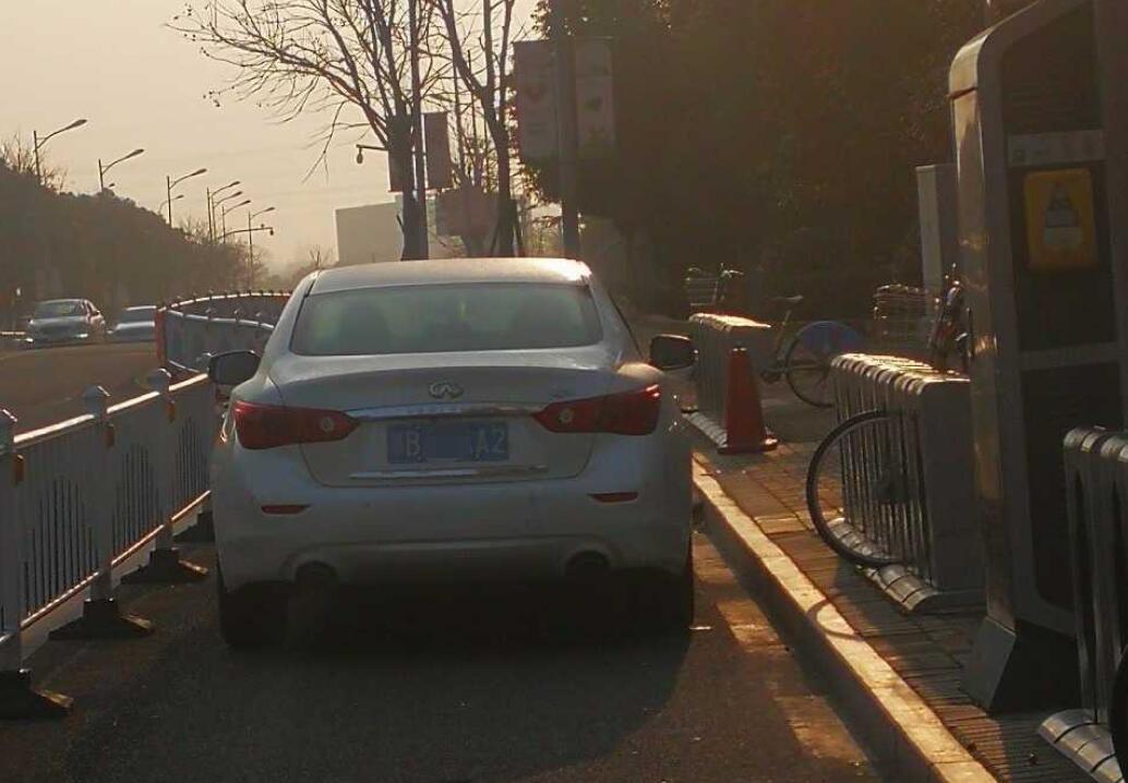 中海国际社区停车乱象