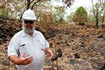 澳山火引出考古新发现 植被烧尽后露出6600年前古迹